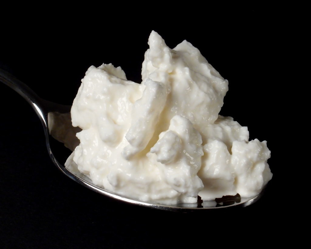 cottage cheese dry curd
