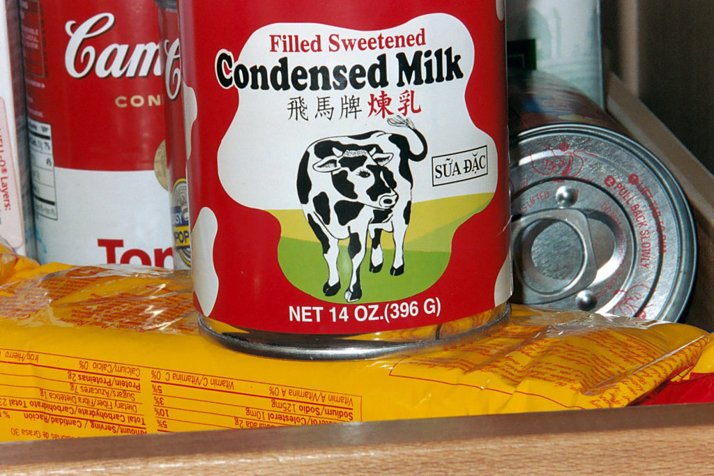 difference between condensed and evaporated milk