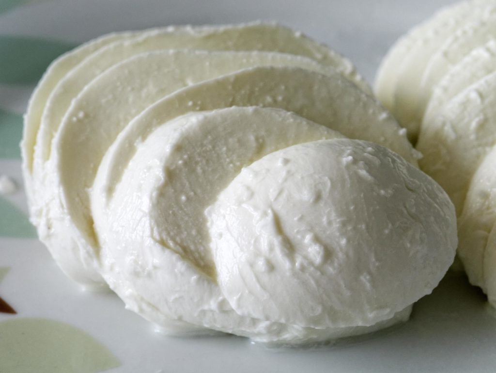 mozzarella pasteurized