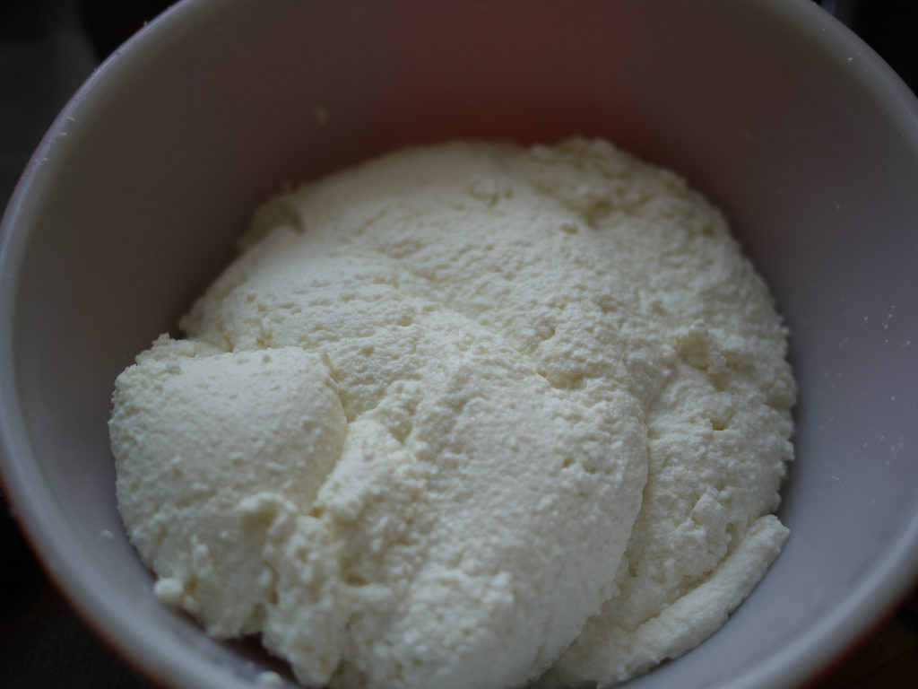 ricotta cheese pasteurized