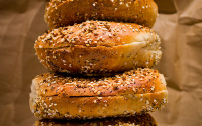 What's on an everything bagel